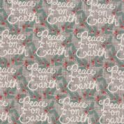 Moda Winterberry by Kate & Birdie - 3924 - Peace on Earth on Stone - 13141 15 - Cotton Fabric